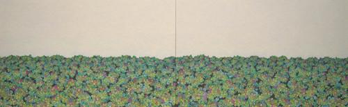 草海 33.3x106.0cm パネル、アクリル