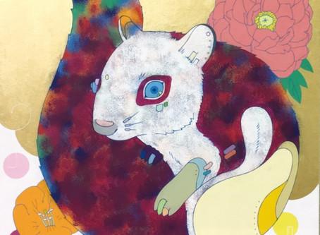 安岡亜蘭展 Art works -桜月-
