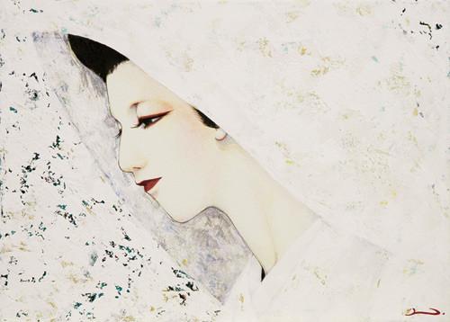 門田奈々「白の日」F4号