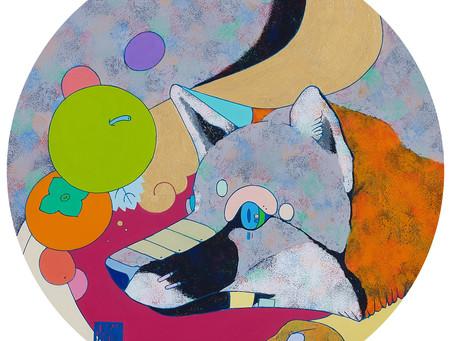 安岡亜蘭展 Artworks-霜月-