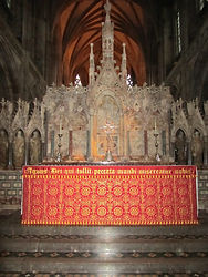 Cathedral ecclesiastical design altar frontal