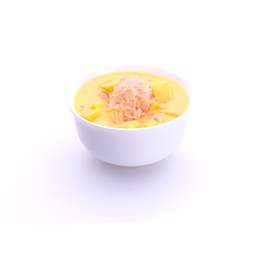 (C2) Chilled mango Sago with Pomelo 楊枝甘露