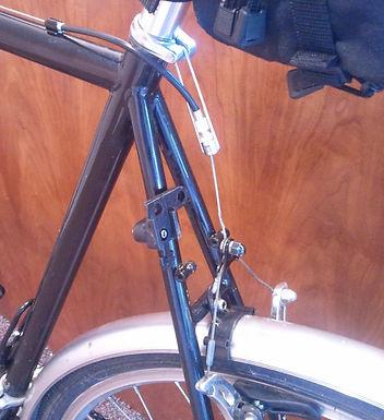 Install Cantilevered Rim Brakes
