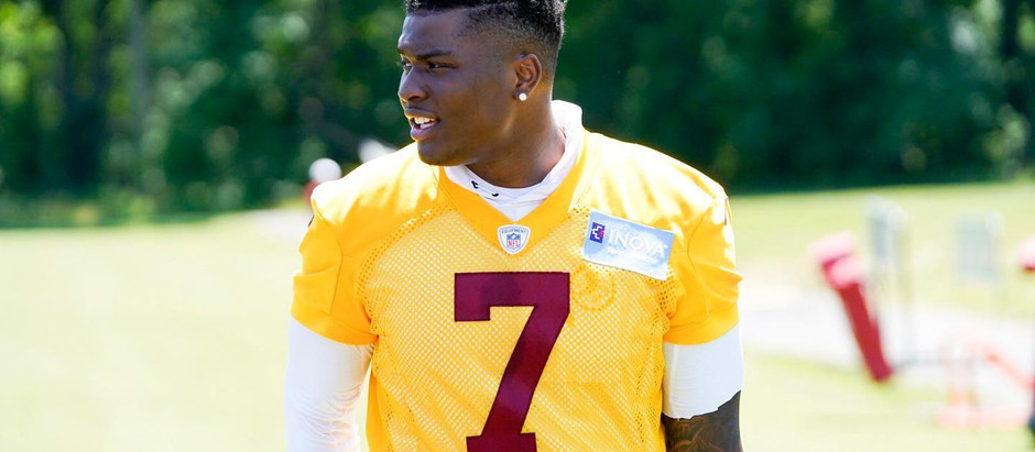 Interview: Washington Football QB Dwayne Haskins Jr.
