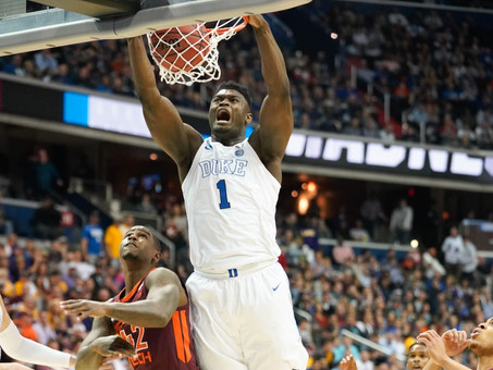 NBA fans think Zion Williamson could save their team. He's just trying to have fun at Duke