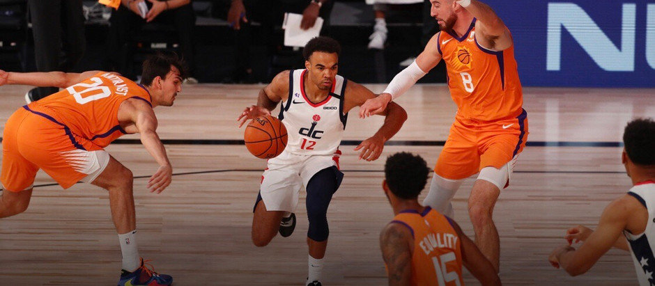 Jerome Robinson shines in otherwise bleak Wizards loss to Suns