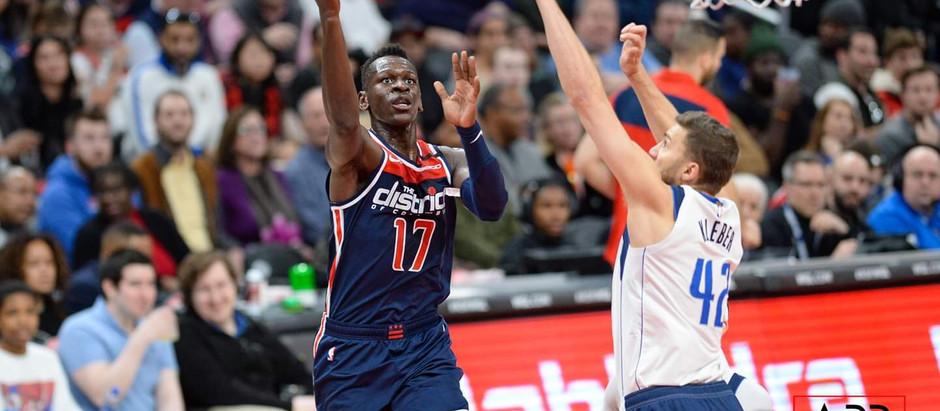 Isaac Bonga epitomizes the Wizards' hard work development process