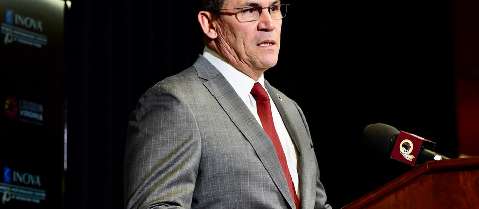 Interview: Washington Football Coach Ron Rivera