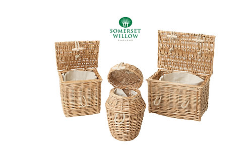 Somerset Willow woven ashes caskets and urns