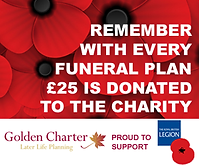 £25 Donation with every funeral plan taken out with J G Fielder & Son Funeral Directors, York