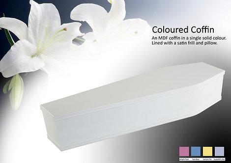 Solid Colour Coffin