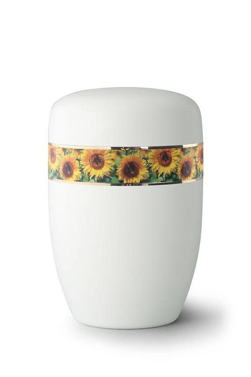 Sunflower Bordered Urn