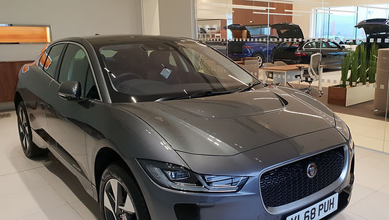 Jaguar I-Pace all-electric funeral vehicle