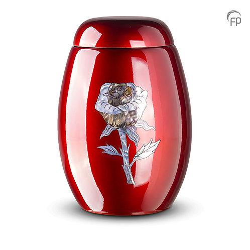 Rose Glass Fibre Urn