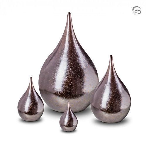 Ceramic Teardrop Urn
