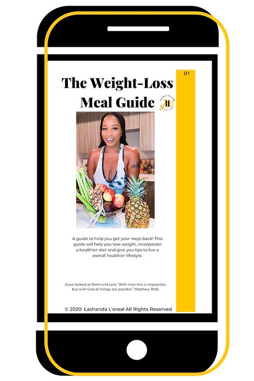 Journey II Wellness Weight Loss Meal Guide