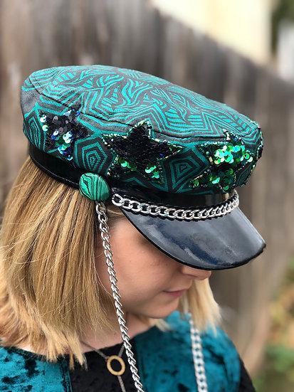 Malachite Star Hat