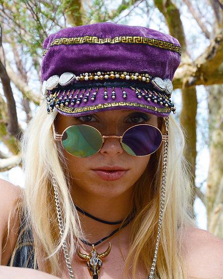 Purple Feels Velvet Hat