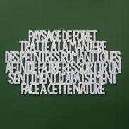 PAYSAGE DE FORET
