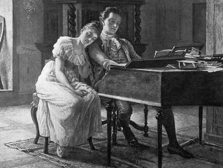 Development of German Lieder, part i