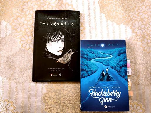 Thư viện kỳ lạ (Murakami) & Cuộc phiêu lưu của Huckleberry Finn (Mark Twain)