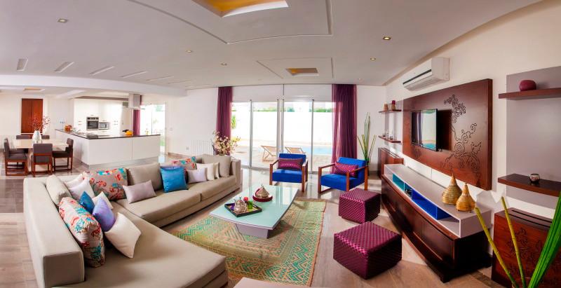 Salon grand luxe