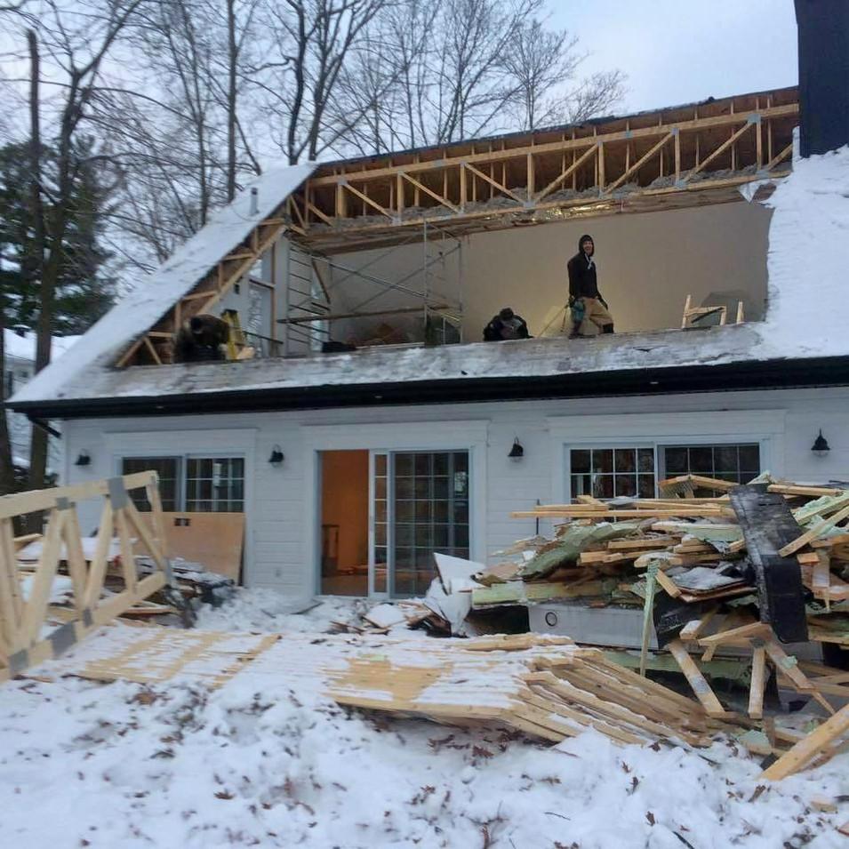 demolition chantier
