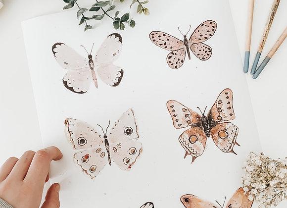 Butterfly Print - 8x11 FINE ART