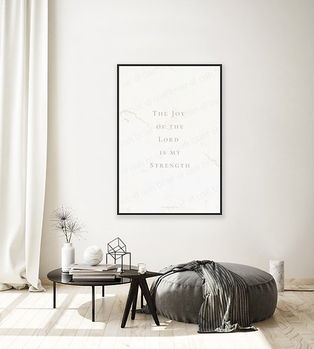 The Joy of the Lord - 4x6 Print