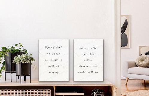 Spirit Lead Me - 8x10 Print