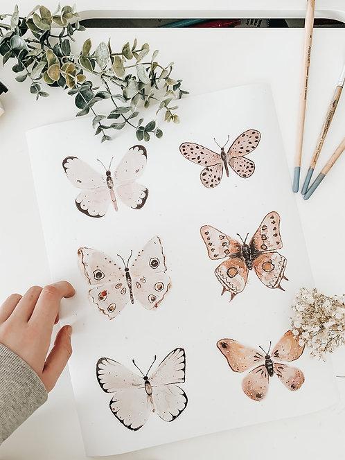 Butterfly Print - 4x6