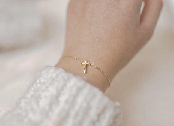 Saved by Grace - Cross Bracelet