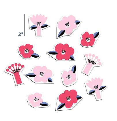Retro Pink Flora Set