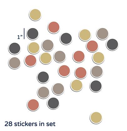 Desert Polka Dots Set