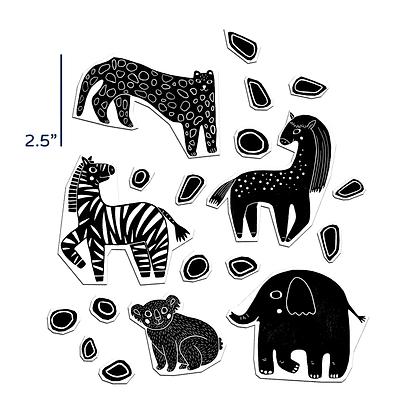 Black Zoo Set