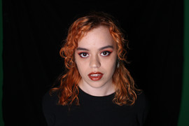 Monokrom fest makeup