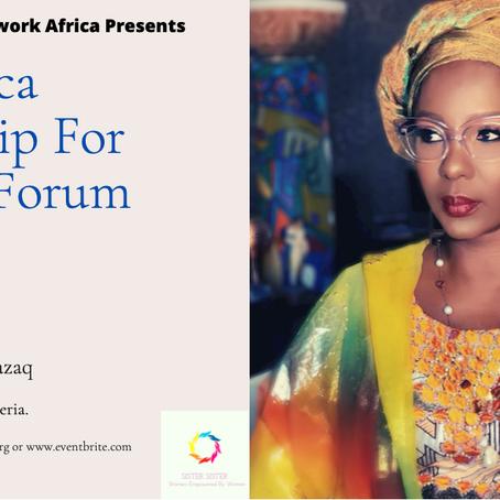 Speaker Announcement - The Africa Leadership for Women Forum