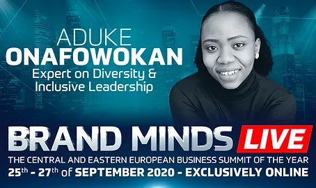Inclusivitii will be at BrandMinds 2020 with 15,000 globe changers!