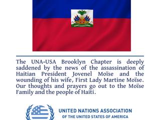 UN condemns 'abhorrent' assassination of Haiti President Jovenel Moïse