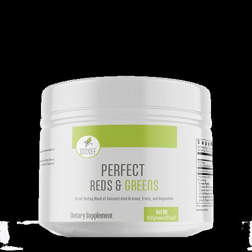 Perfect Reds & Greens: Alcaliniza tu cuerpo