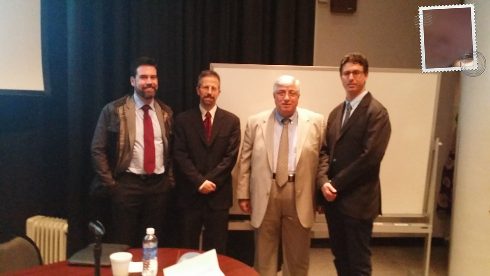 Panelist and Chapter President UN Day 2014.jpg
