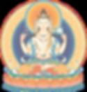 Avalokiteshvara (4-armed) 2_transparent.