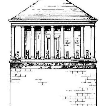 Мемориальные комплексы - надгробная архитектура эпохи «Эллинизма»
