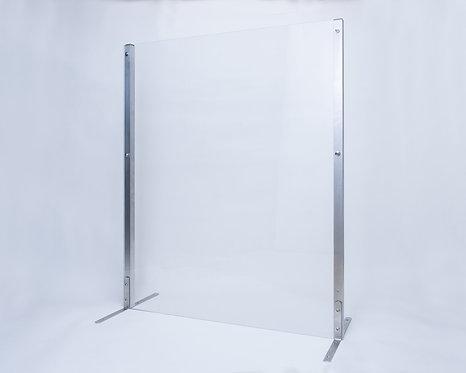 "Countertop Plexiglass Sneeze Guard - 36""H x 30""W"