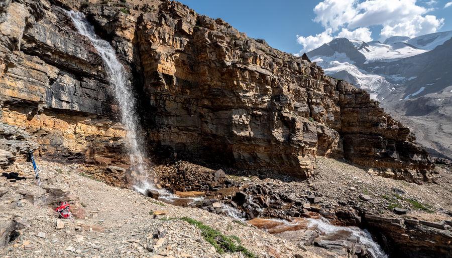 Snowbird Pass Waterfalls