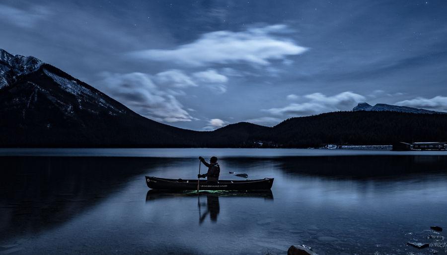 Nightime Canoe Adventures