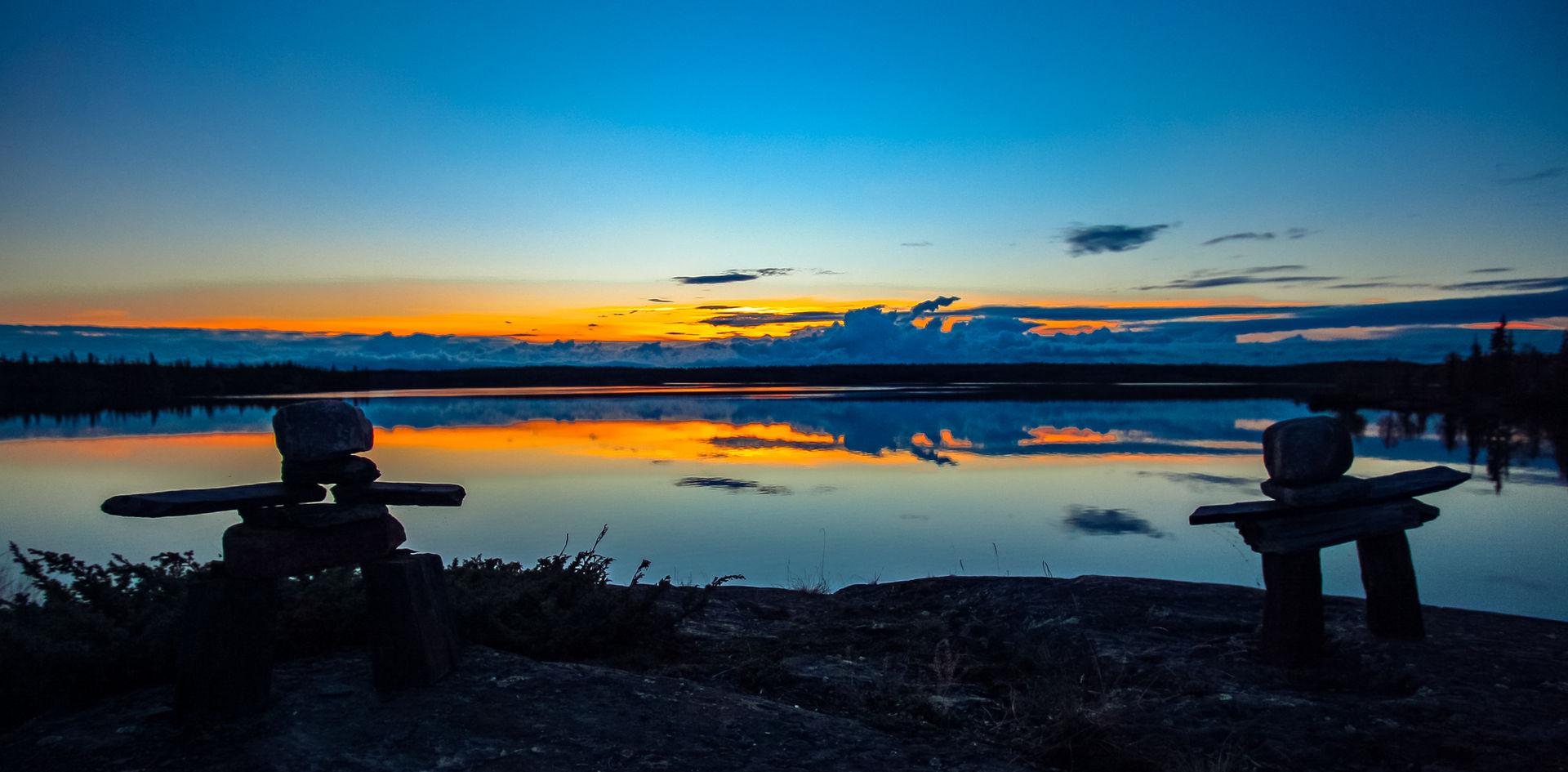 Inuksuk Sunsets