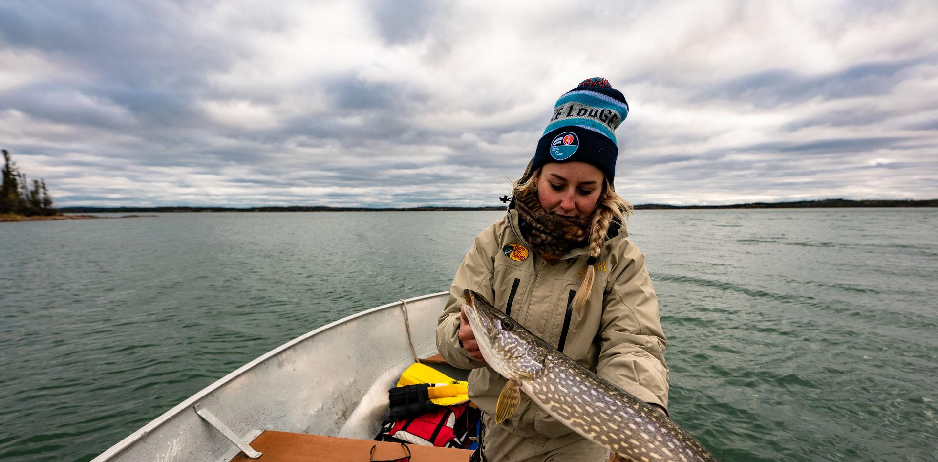 Blachford Lake Fishing