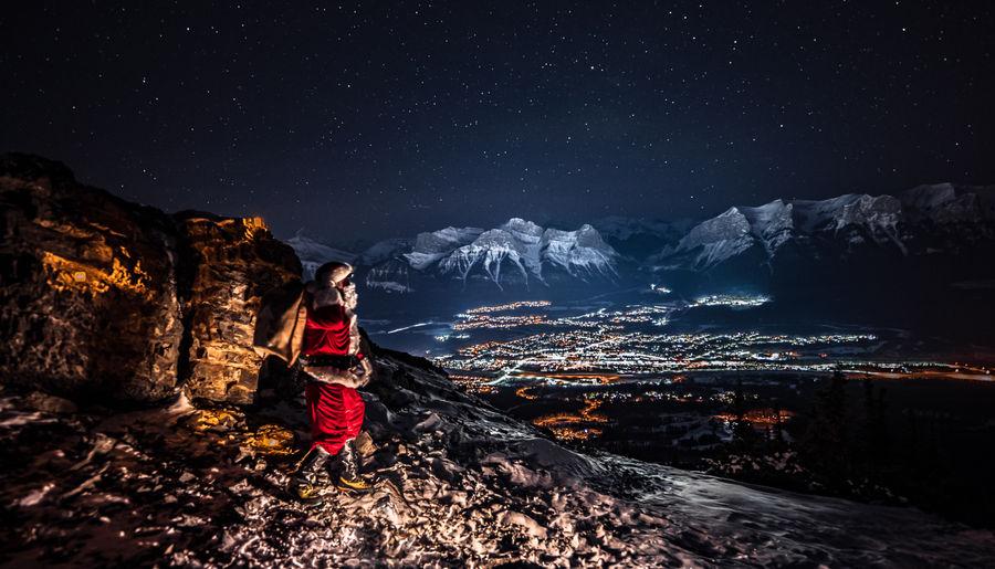 Mountain Santa
