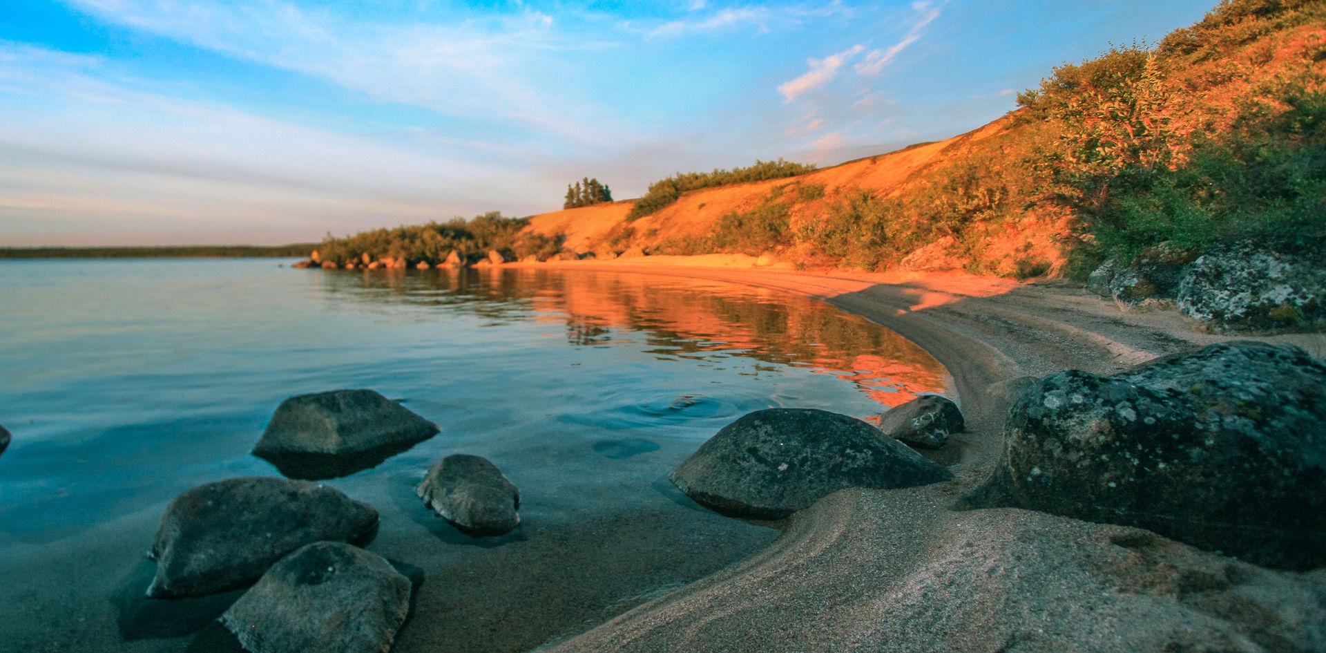 Lockhart Lake Beach